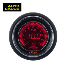 Various Types Led Light Digital Meter Racing Manometer Oil Pressure Gauge