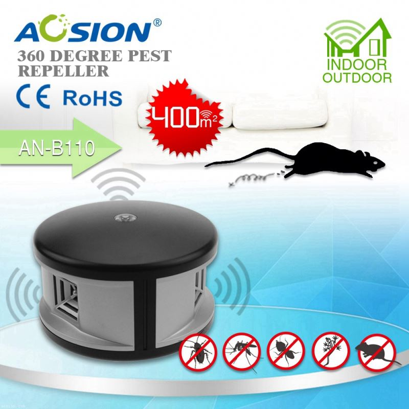 Aosion patent good performance repel mice rat ant bug 360deg ultrasonic mouse
