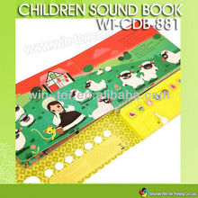 WT-CDB-881 childrens music button board book