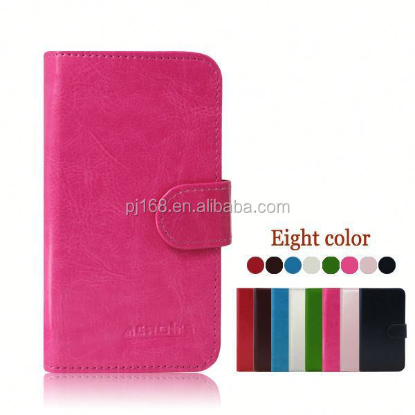 Wholesale Stylish Phone Protective Leather Flip Cover Case For HTC Zara