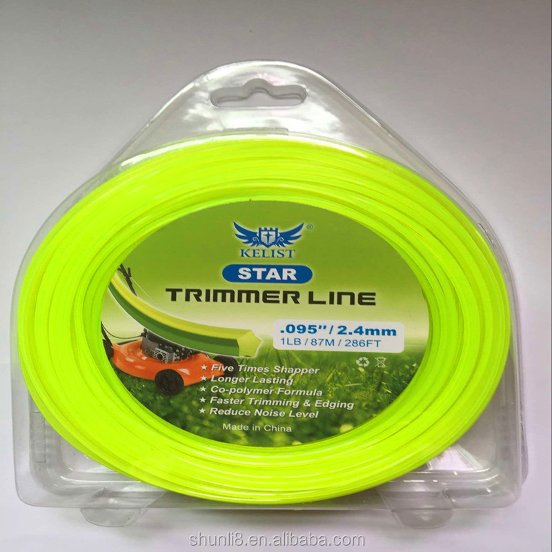 Professional Grade Original Nylon Grass Trimmer Line,quality trimmer line