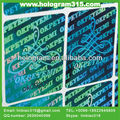 holographic hologram notebook adhesive stickers labels