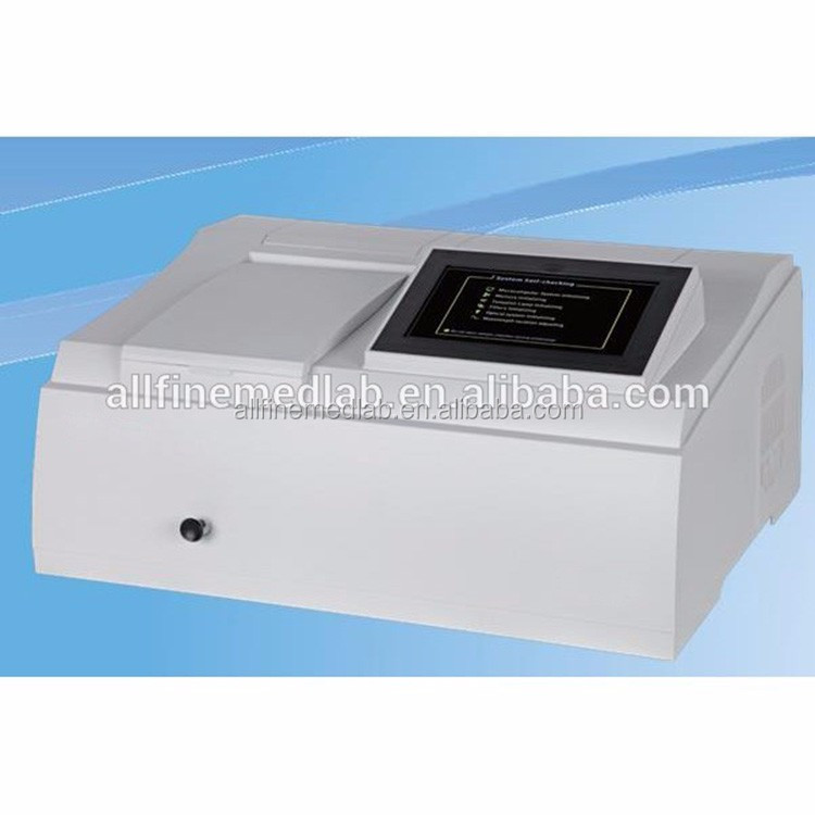 with Scanning, 325-1000nm,1200 lines/mm Holographic Grating, C-T monochromator UV-VIS Spectrophotometer