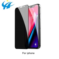 smart mobile cell phone 9h explosion proof double strength tempered glass screen protector 0.33mm for iphone xs xr xs max