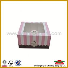 dissoluble plain cake boxes birthday cake box