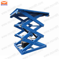 5m cargo scissor lift table manufacturer