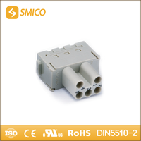 SMICO Hot Selling Products Electrical Cage Clamp 5 Pin Female Connector