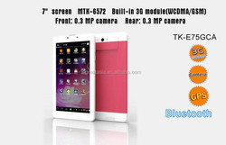 Good Quality Fashionable 7 inch mobile phone shenzhen tablet pc