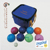 custom bocce ball set 90mm cheap lawn ball set
