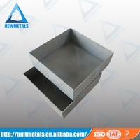 high quality competitive price Molybdenum MoLa sintering and forging boat