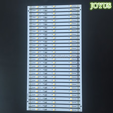 12v 3leds white 3528 led rigid fabric strip 100mm 5mm wide pcb