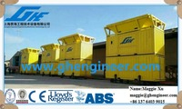 mobile port handling grain fertilizer bagging and weighing machinery