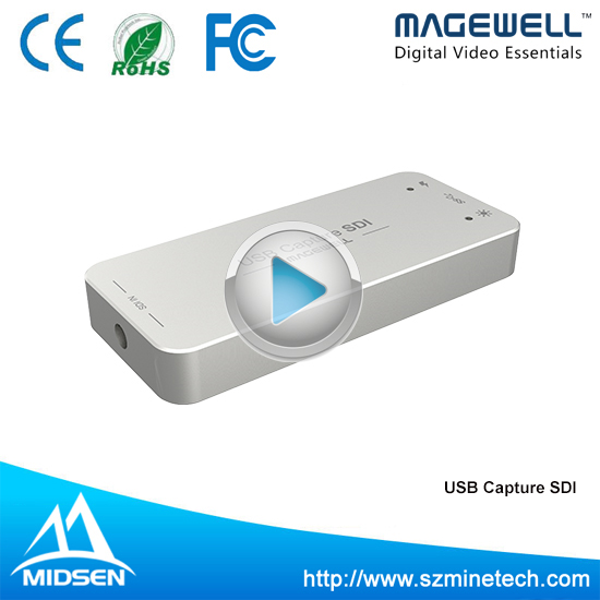 Factory Price User Friendly Fast SDI Capture Card Video Capture USB For Capture HD Video