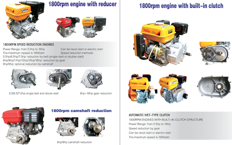 Tenglong 168F/P 4 stroke 5hp gasoline engine 150 cc ~ 163 cc 168f gasoline engine for sale