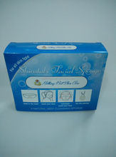 paper sponge packing box/bathroom products packaging/paper box for bathroom ware