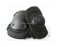 Black Tactical airsoft paintball Military protective knee riding pad 2 color