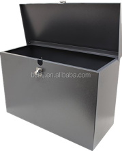 Custom outdoor galvanized sheet metal parcel box/wall mounted metal parcel box