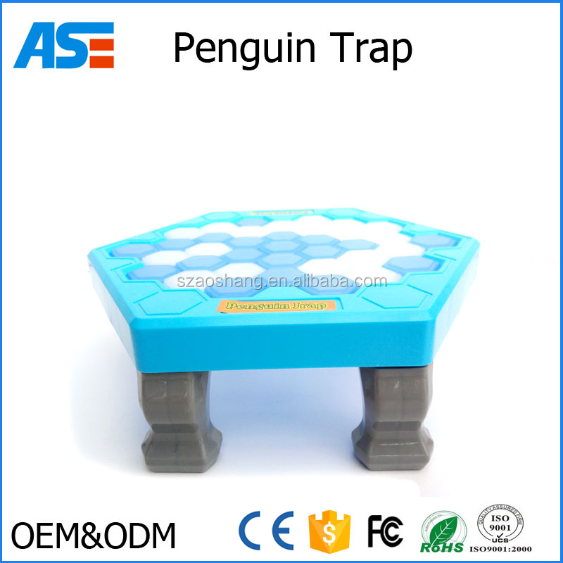 Penguin Trap Ice Breaker Game Save Penguin on Ice Block Board Game Christmas Family Toy