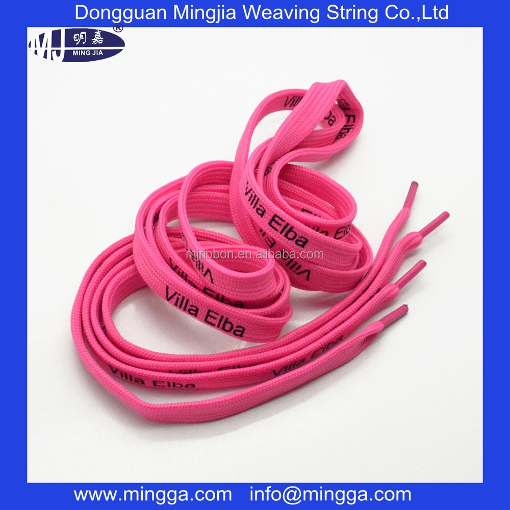 polyester colorful wholesale shoe laces