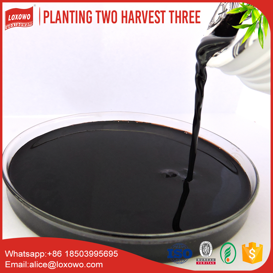 Organic fertilizer liquid type with humic trace element for plant fertilizer