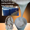 Buy liquid silicone for making molds with free curing agent
