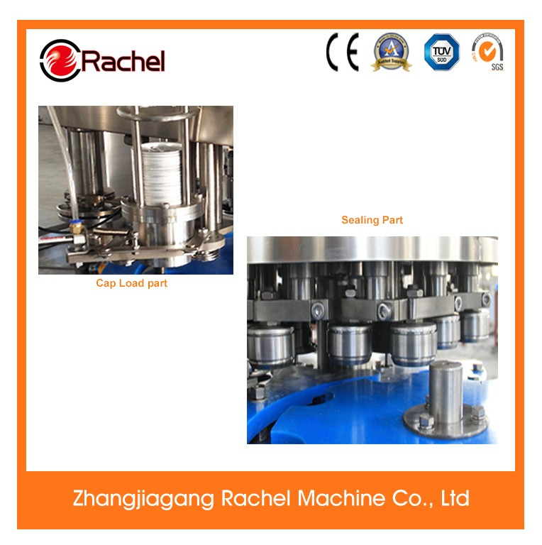 Automatic Aluminum Canned Beverage Sealing Machine