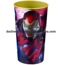 470ml 3D cup IML PP tumbler for kids