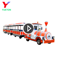 Children Indoor Amusement Monorail Barrel Backyard Model Diesel Trackless Train For Sale