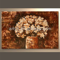 Newest Handmade Famous Flower Picture For Decor