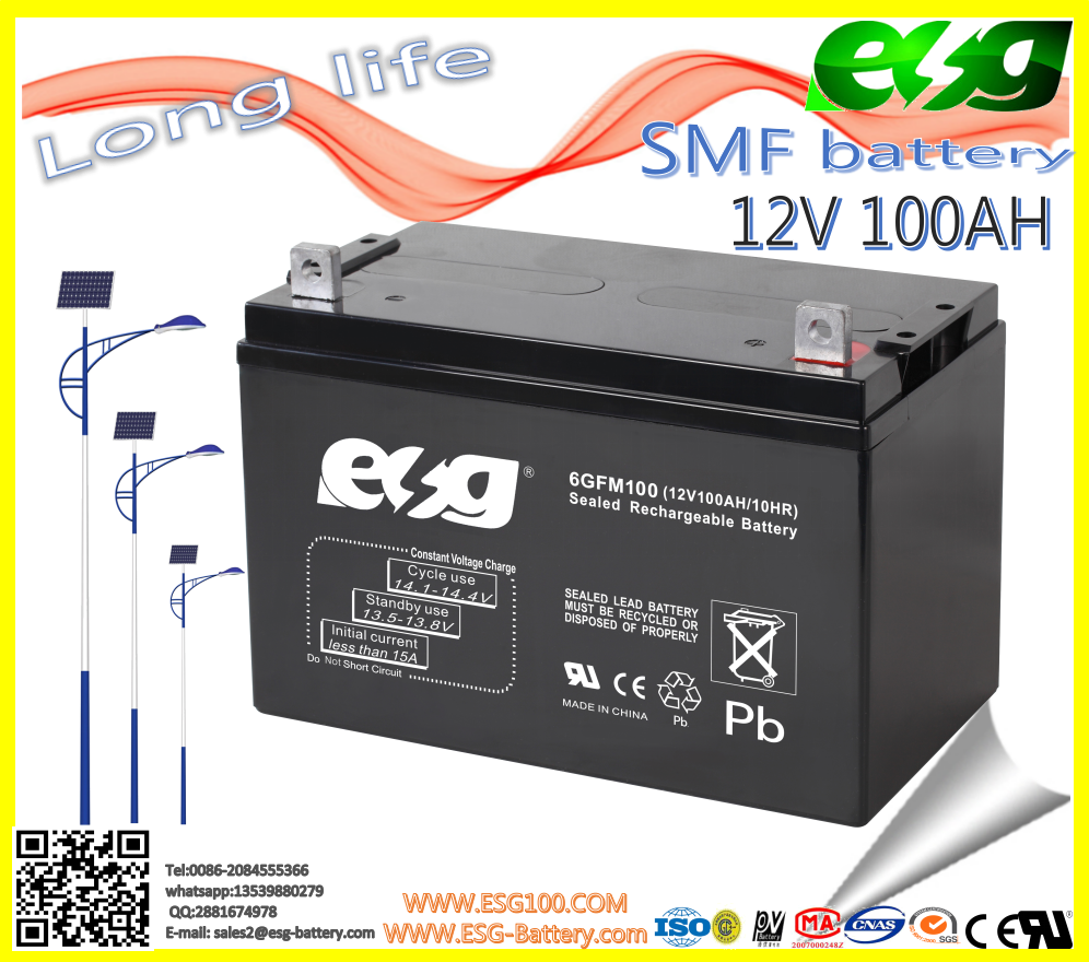 storage battery 12v100ah deep cycle storage battery