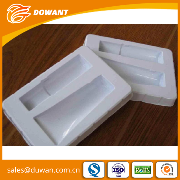 Customer order plastic display blister packaging case for candle