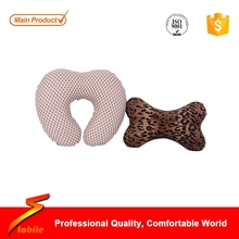 STABILE Fashion U shape flocking pillow of 2016 hot sale with low price