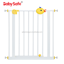 Best Selling Durable Auto Closed Pet Gate , Update Metal Easy Open Walk Through Baby Safety Gate , Easy Step Walk