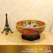 China Room Furniture Price Engineered Lavatory Overflow hole cover Hand made clay pot