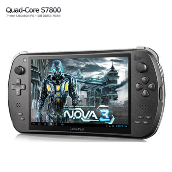 7'' touch screen Quad Core Game console Player tablet pc S7800B gamepad Android 4.4.4 2G RAM 16GB 1280X800 IPS