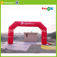 new advertising used inflatable cheap finish line balloons arch rental price