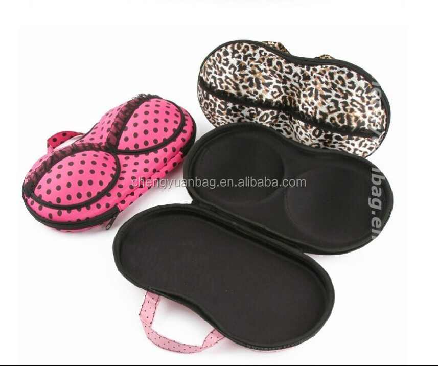 Special design eva travel packaging case bra case