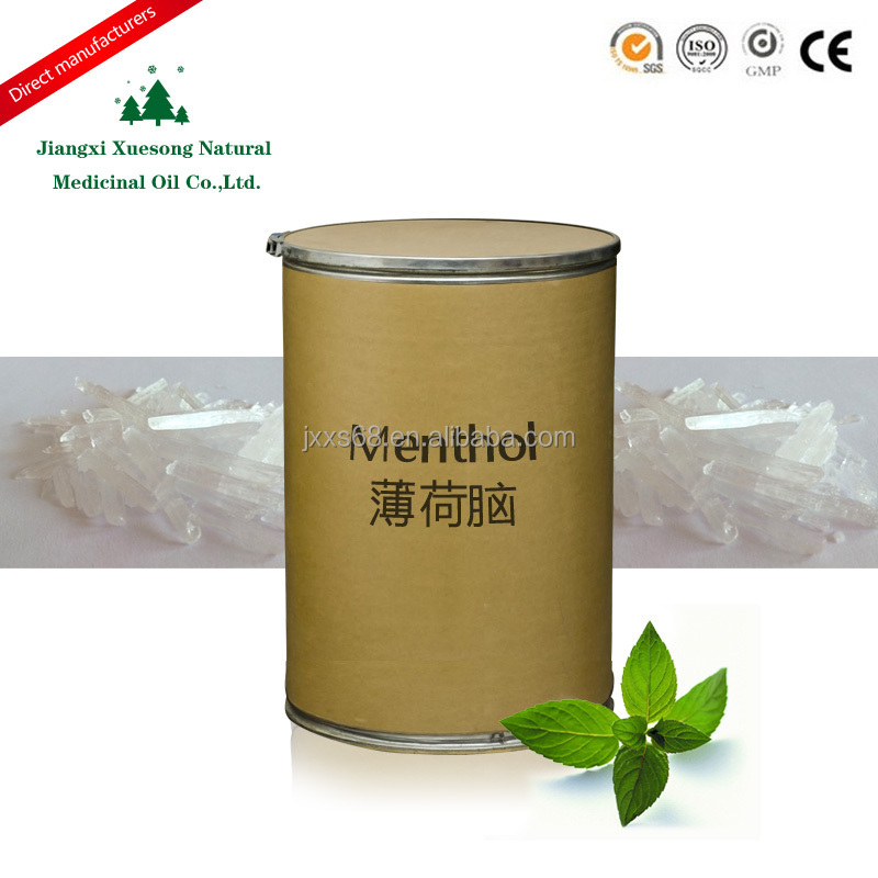 100% Pure natural menthol crystal mint extract by factory supplier