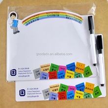 2015 Hot Good helper wholesale high quality magnetic erasable writing board