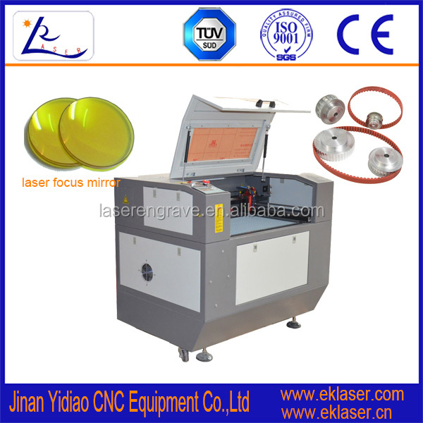 High precision small keyboard and computer parts laser engraving machine