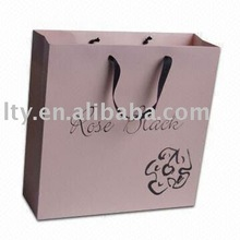 Customized boutique shopping bags