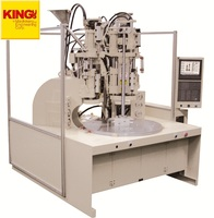 New product KING'S-Energy Saving PVC Plastic Two Color Injection Molding Machine with Rotary Table