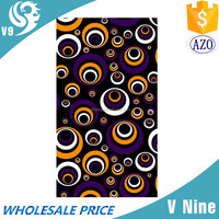 Custom screen printing cheap beach towels wholesales