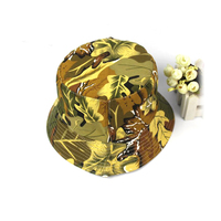 Online wholesale High quality cheap customized floral printing womens Outdoor Bucket Hat for sale