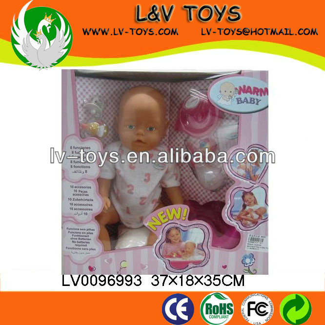 2013 The most popular High quality Vinyl 16 Inch Toy doll set for baby play with EN71
