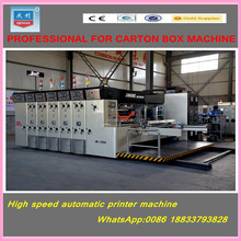 jingke packing machine factory/cardboard flexo ink printer slotter/corrugated carton box printing machine