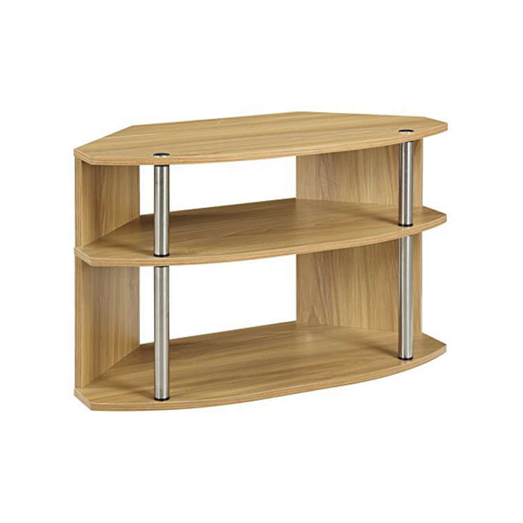 Modern Designs 3 Tier Melamine MFC MDF Wood LED TV Stand Table