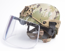 MCNIJ 3A Crye Precision AIRFRAME Aramid Bulletproof Helmet With Shield Bullet Proof Vented Air Frame Ballistic Helmet With Visor