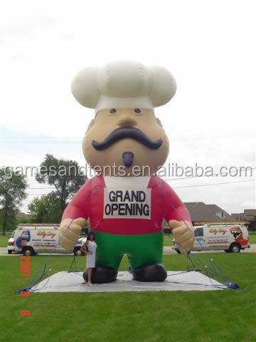 inflatable balloon,inflatable giant chef F1033