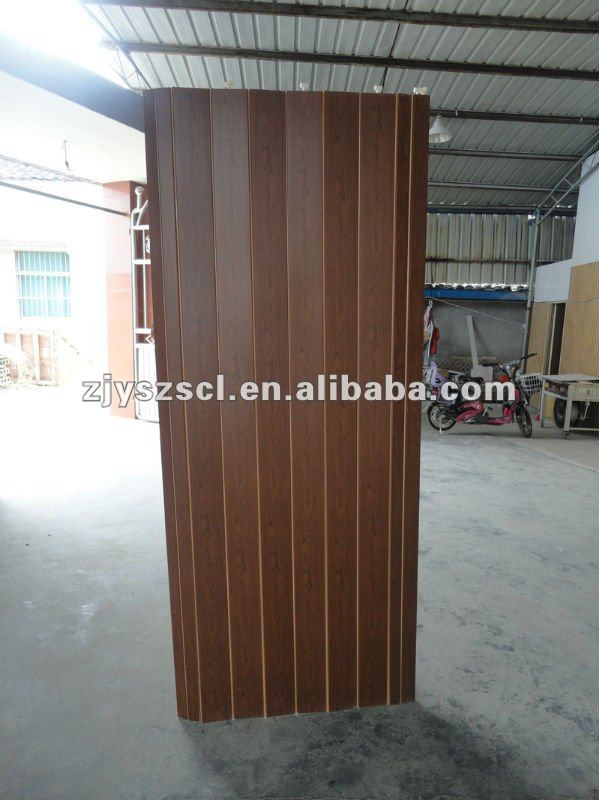 Acordeon de pl stico puerta de madera serie puertas - Puertas acordeon madera ...